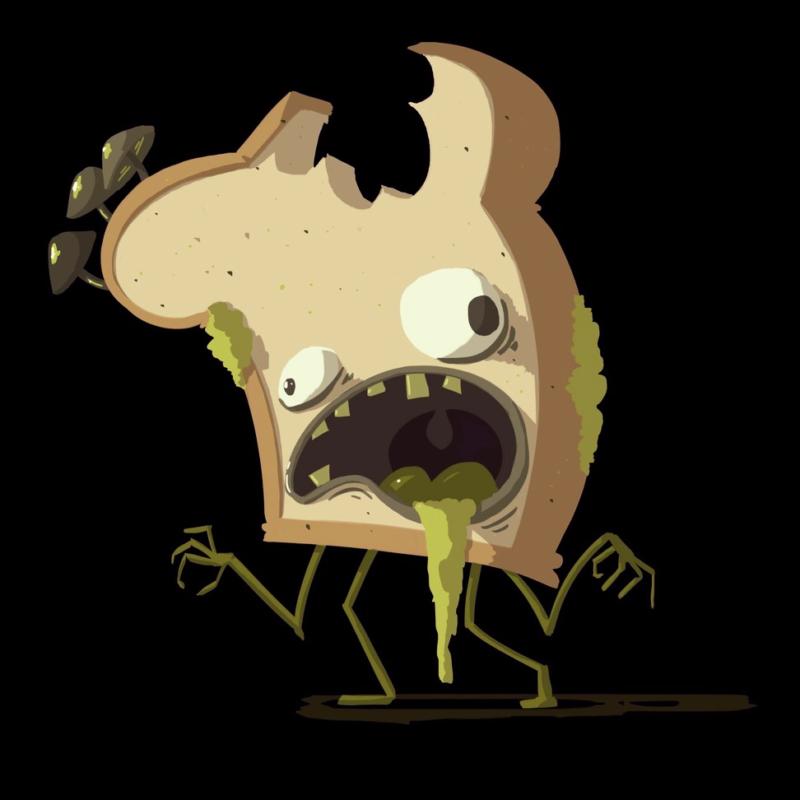 Zombie-toast