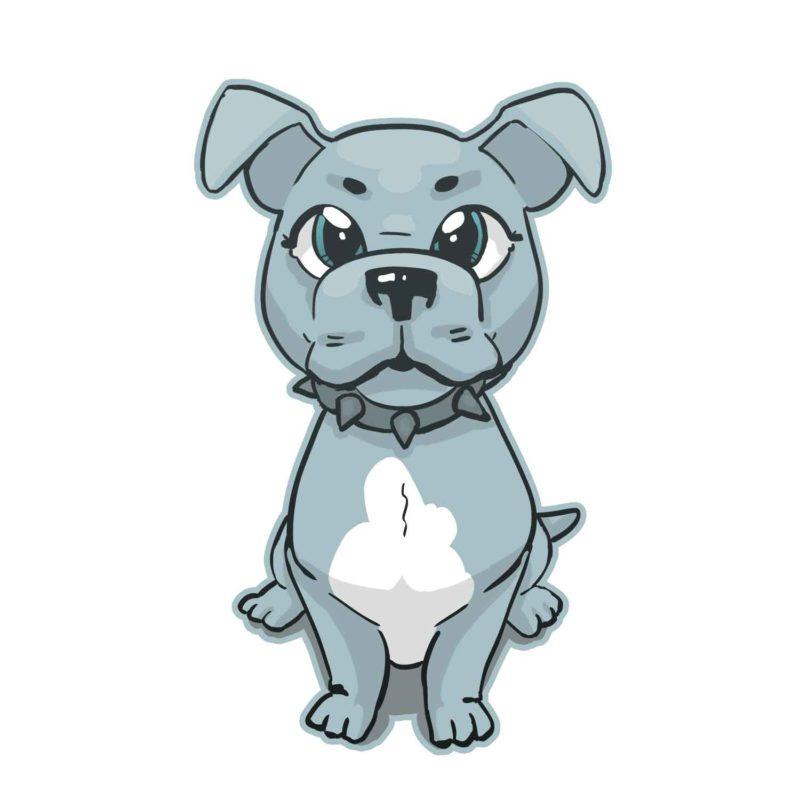 Pitbull Puppy | Spread-shirt design